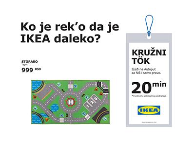 Projekat Ko je reko da je Ikea daleko